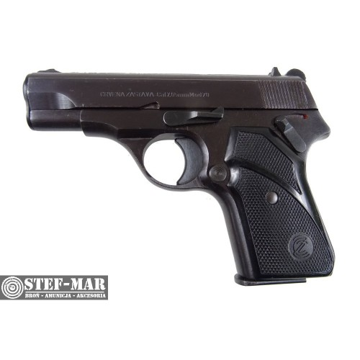 Pistolet centralny zaplon Zastava Model 70, kal. 7,65 BR [C1133]