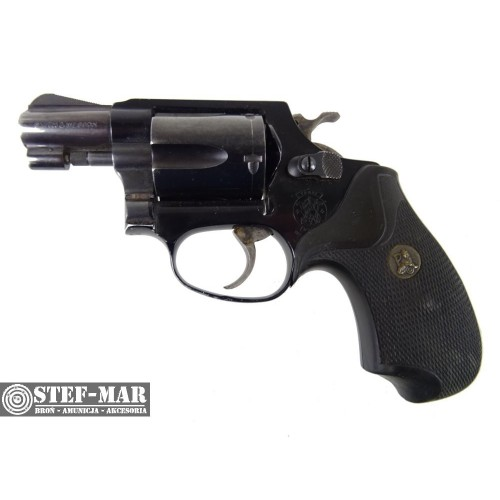 Rewolwer centralny zaplon Smith & Wesson 37-1, kal. .38 SP [G326]