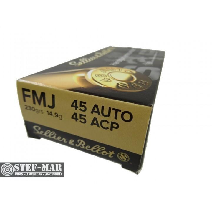 Amunicja Sellier & Bellot .45 Auto ACP (50 szt.)
